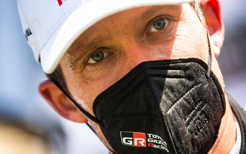 WRC YPRES RALLY BELGIUM TOYOTA GAZZO RACING OGIER