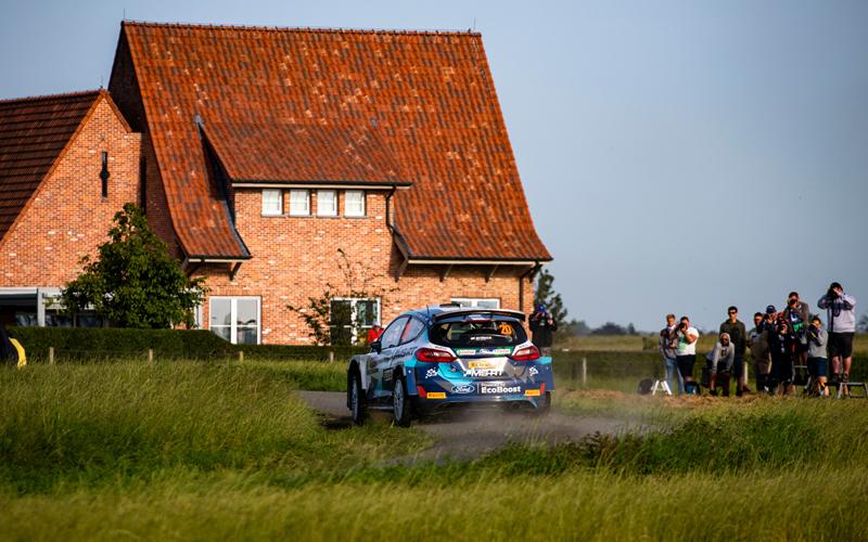 WRC YPRES RALLY BELGIUM M-SPORT SUNINEN
