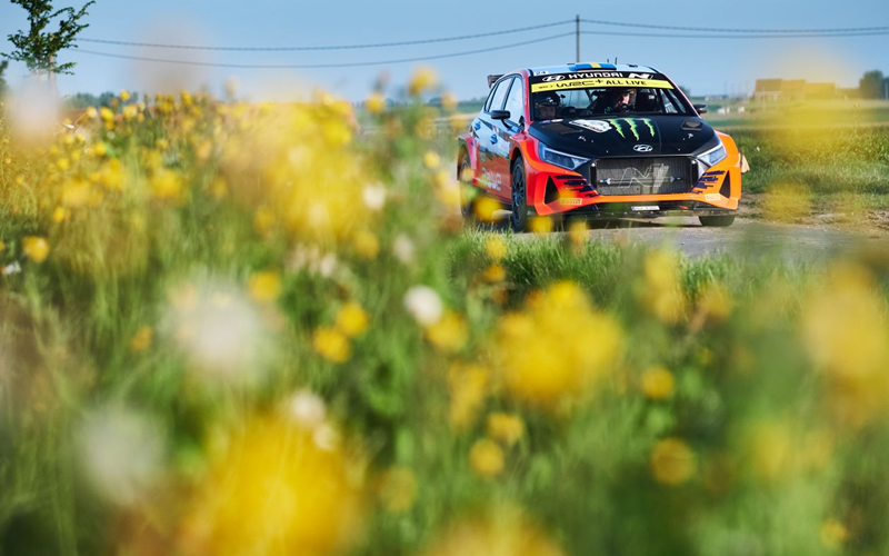 WRC YPRES RALLY BELGIUM HYUNDAI SOLBERG