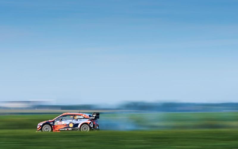 WRC YPRES RALLY BELGIUM HYUNDAI BREN