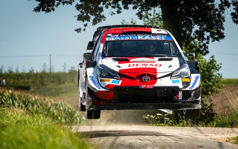 WRC YPRES RALLY BELGIUM TOYOTA GAZOO OGIER