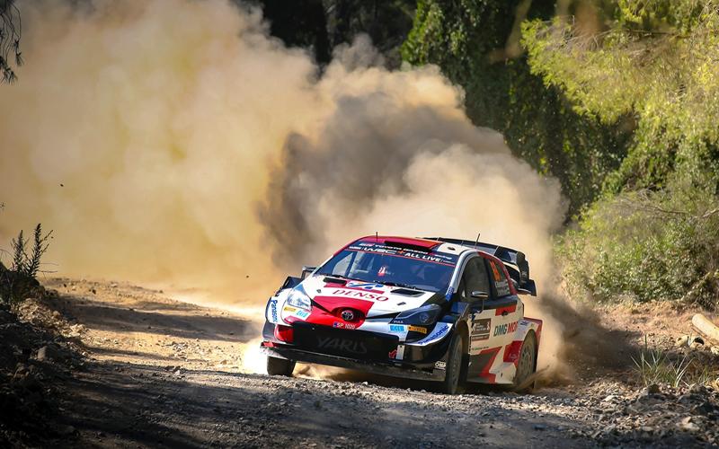 WRC   RD9 ACROPOLIS RALLY GREECE 2021