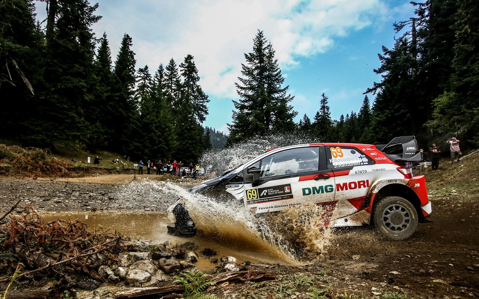 WRC | RD9 ACROPOLIS RALLY GREEC